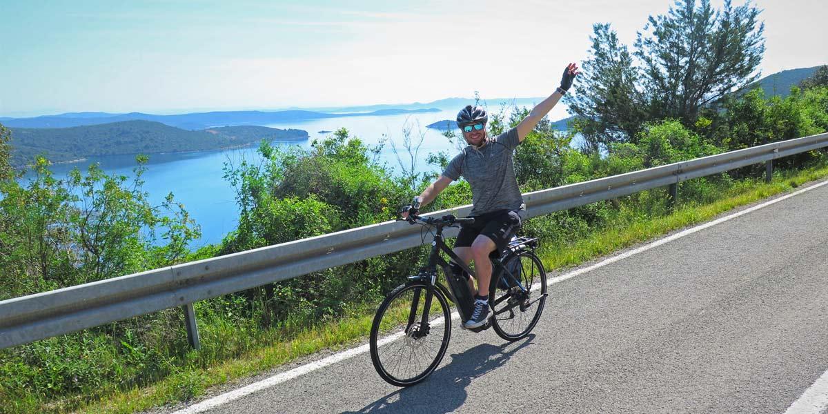 Cycling on Dugi Otok