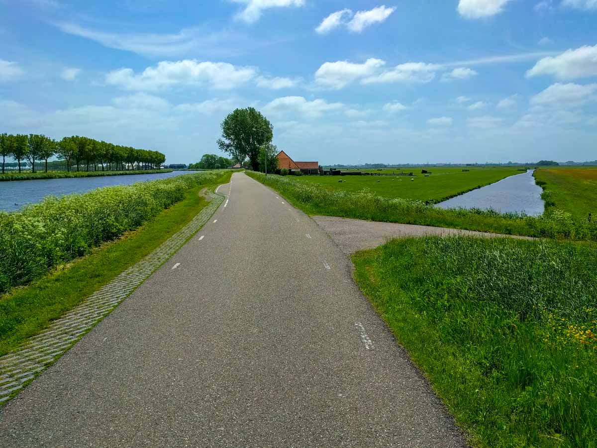 Holland cycle path