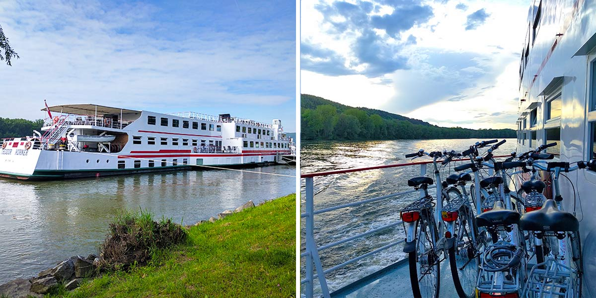 Danube river Bike & Barge cruise