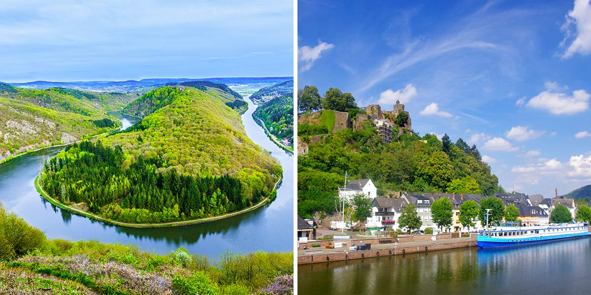 Saar River Boat Bike Tours