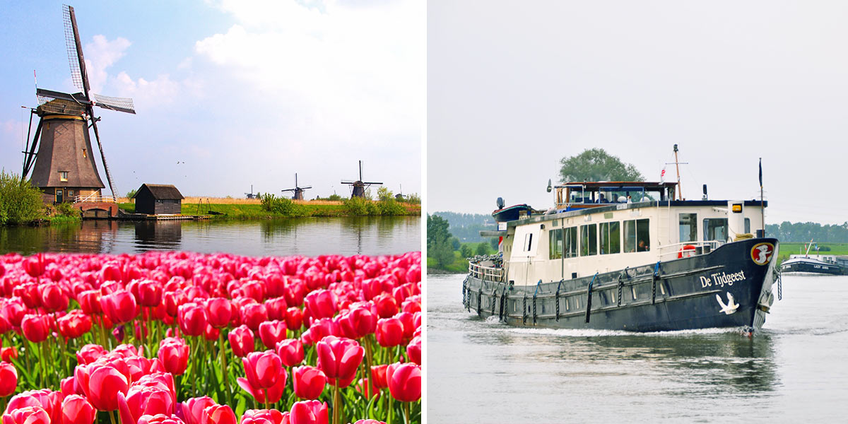 Tulip Boat & Bike tour
