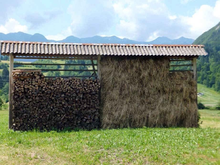 Hay Racks in Slovenia
