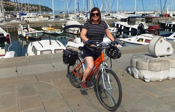 Catherine in Koper