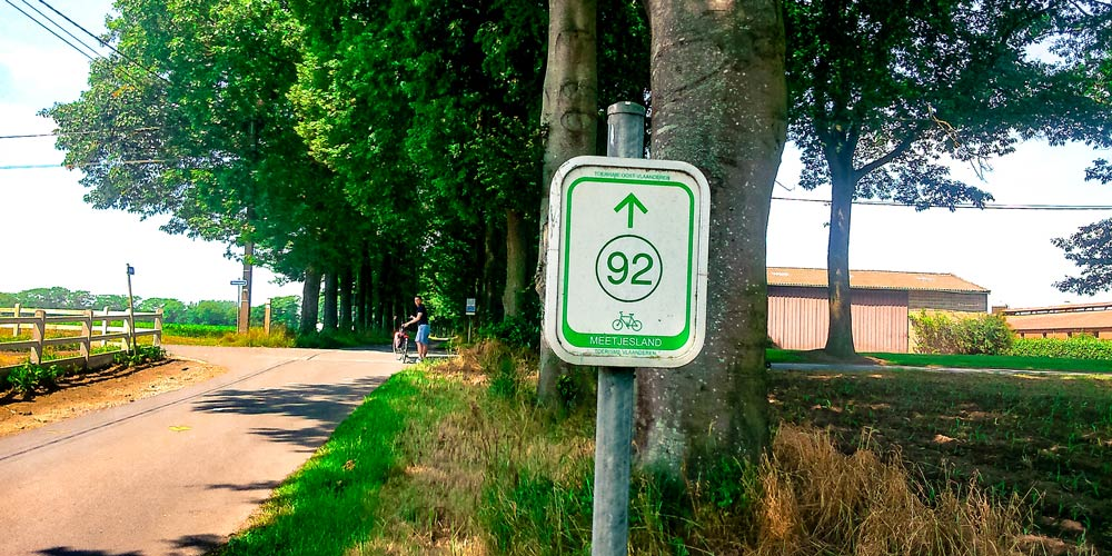 Junction Network Signpost in Holland