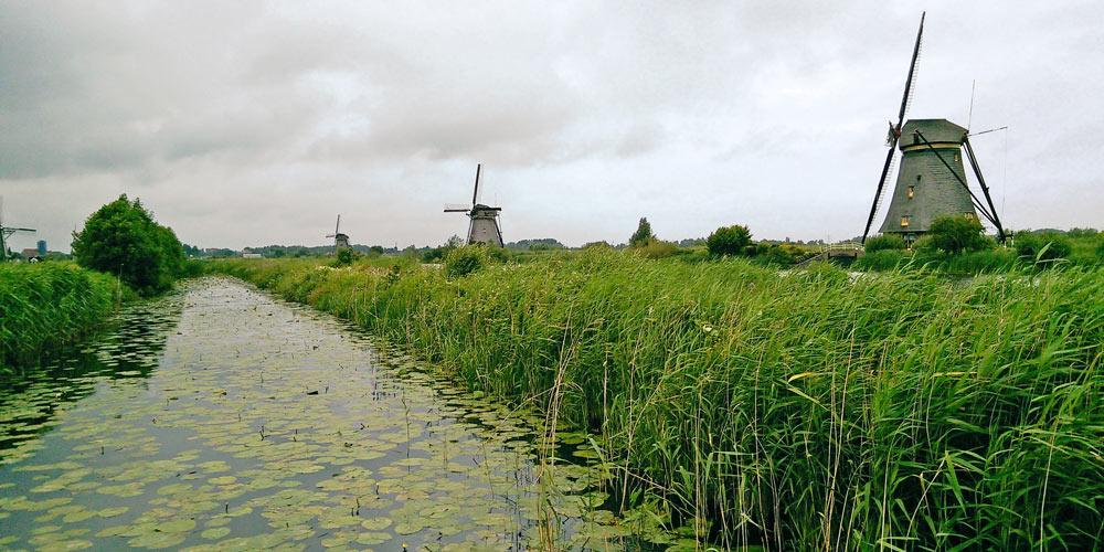 Kinderdijk, nineteen windmills on a UNESCO World Heritage Site