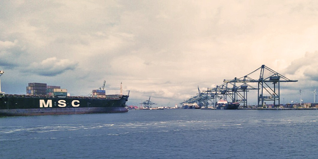 Antwerp, Europe's second largest commercial port