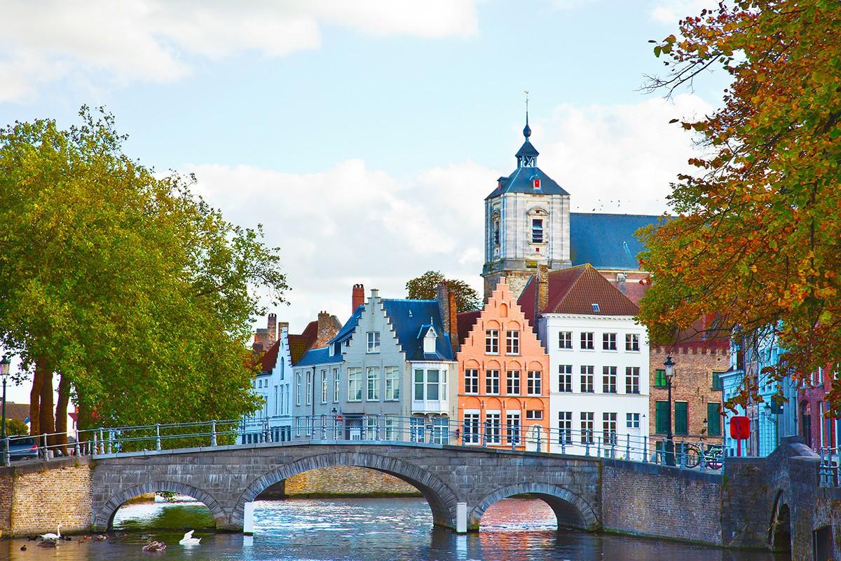Bridge in Bruges