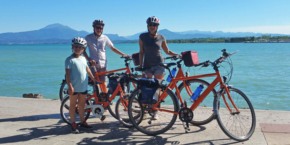 Lake Garda Family Cycling