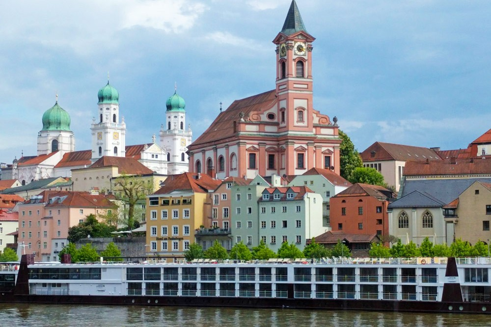 Town By River Danube