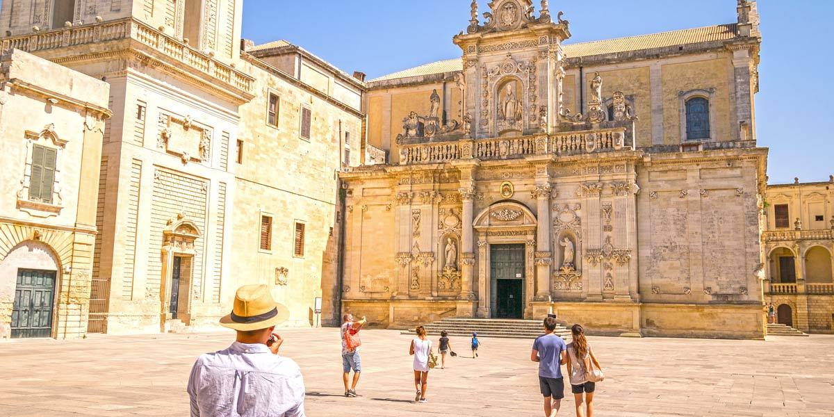 Lecce Duomo, Puglia