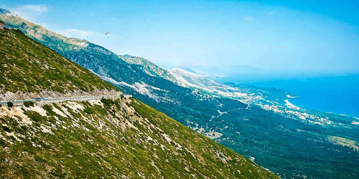 Llogara pass, Albania