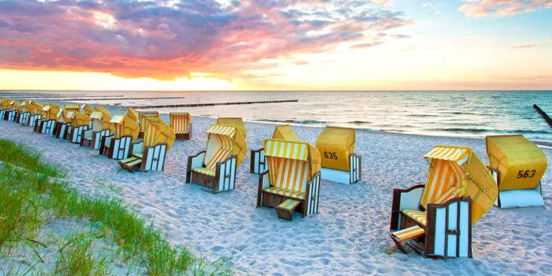 Baltic Coast beach, Germany
