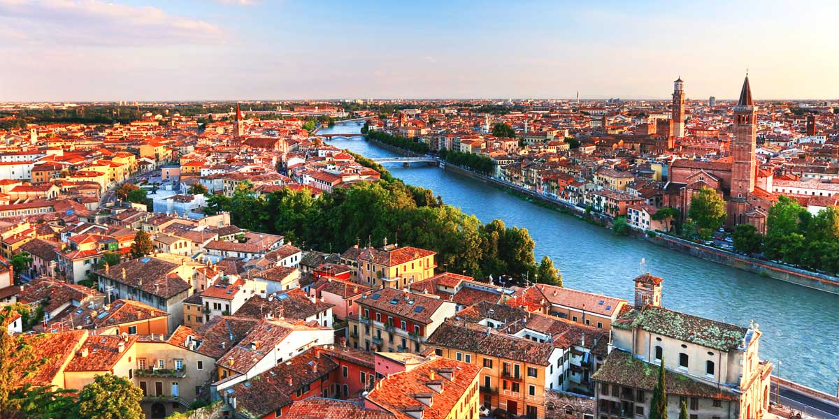 Verona skyline, Italy