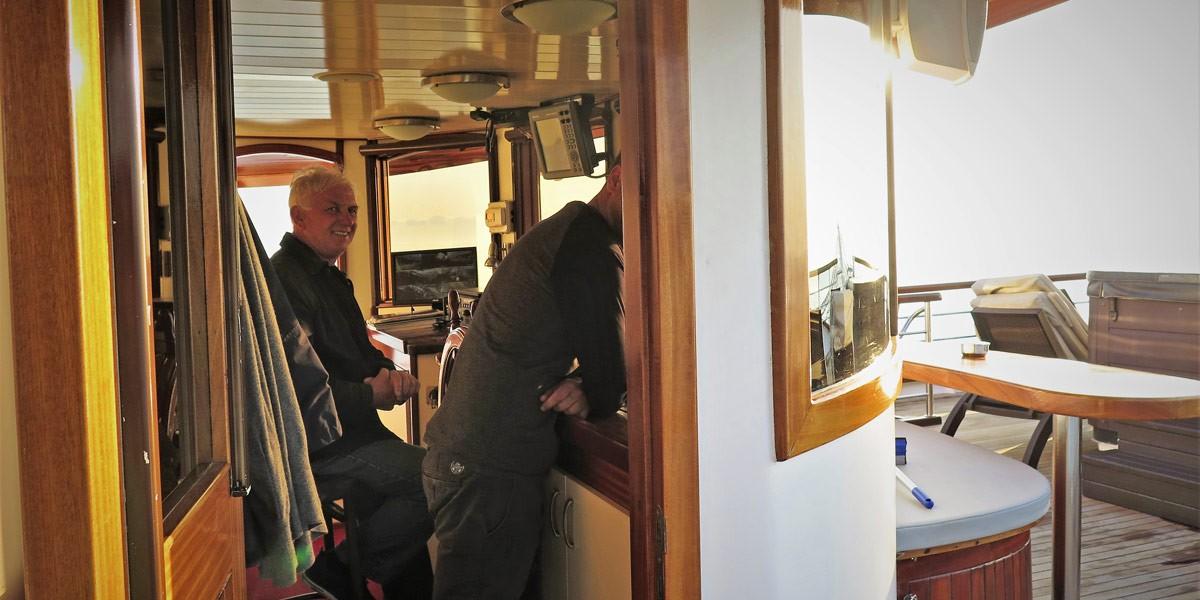 Princeza Diana boat captain