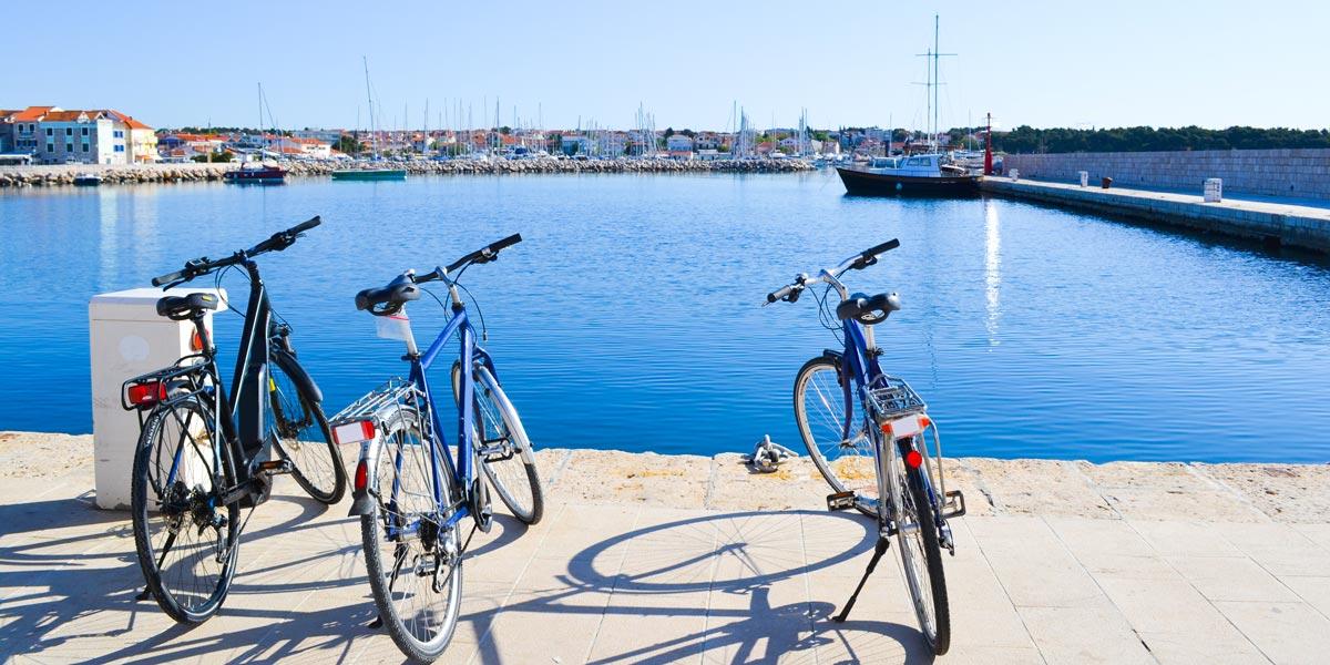 Bikes in Croatia