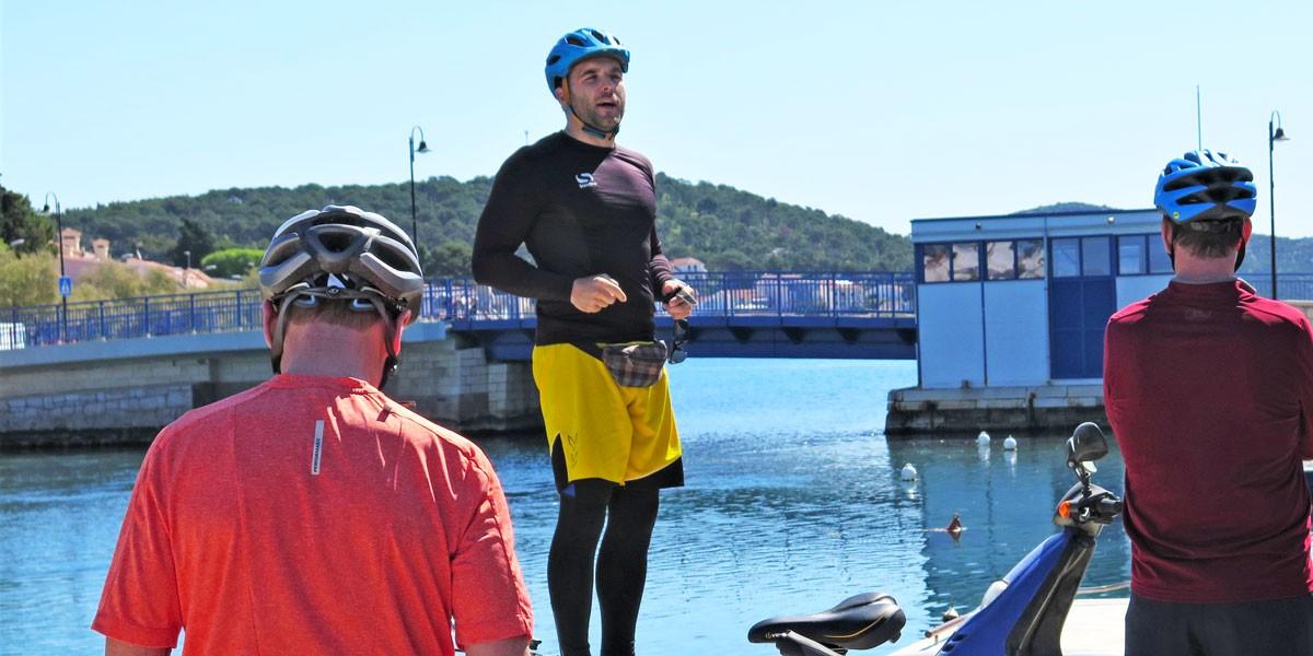 Ivan tour guide in Croatia