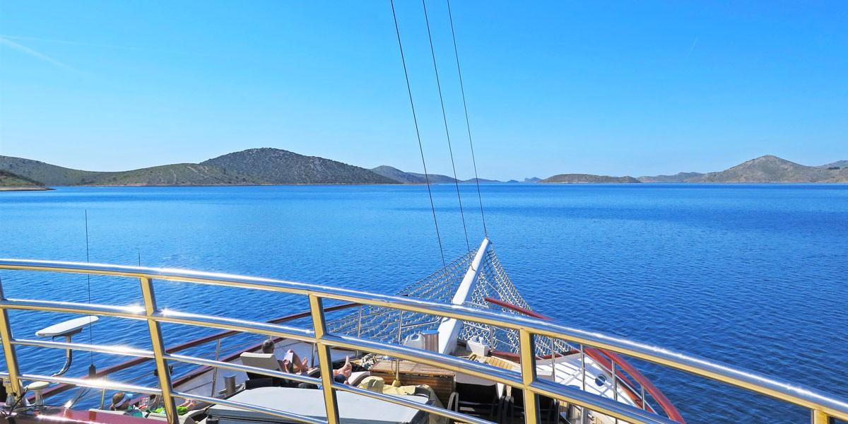 View of Kornati islands