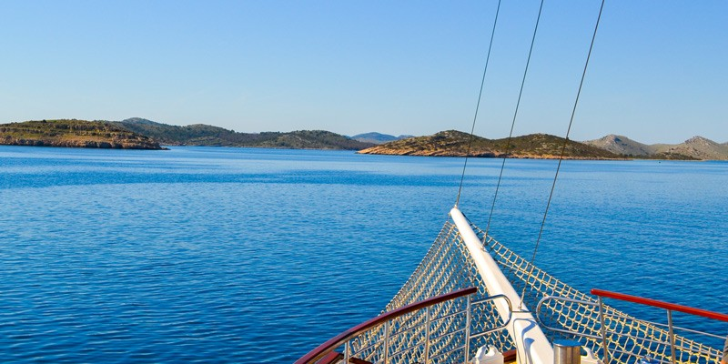 Sailing Kornati Islands, Croatia
