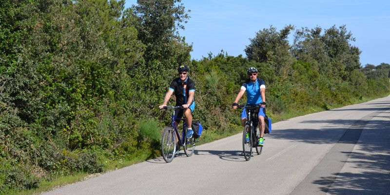 Guided Cycling in Croatia