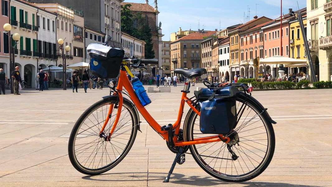 Bike in Mestre, Italy