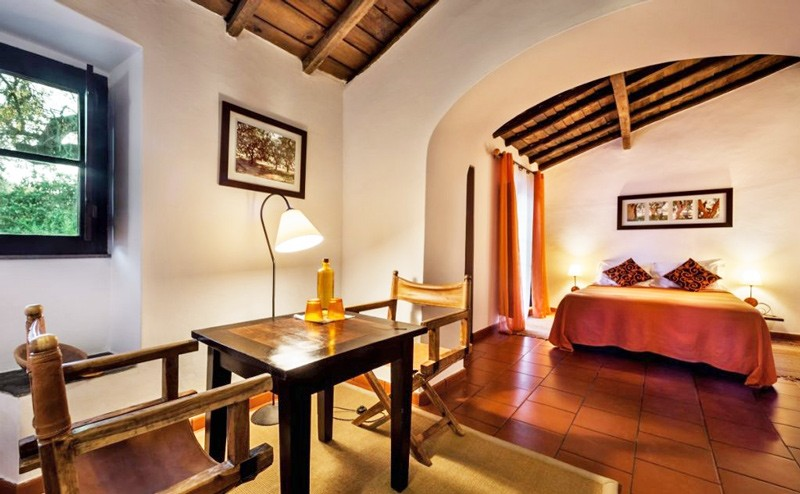 Bedroom, Alentejo farmhouse, Portugal