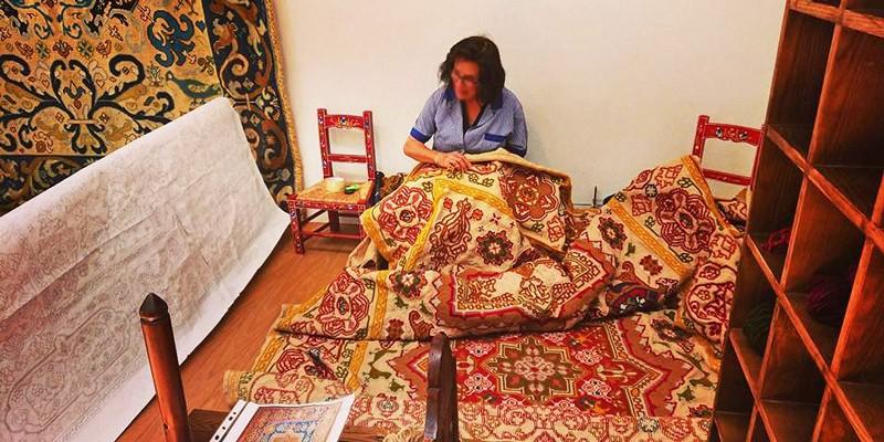 Arraiolos carpet museum
