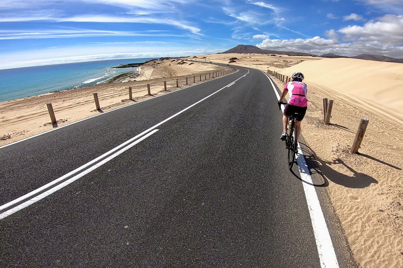 Fuerteventura cycling