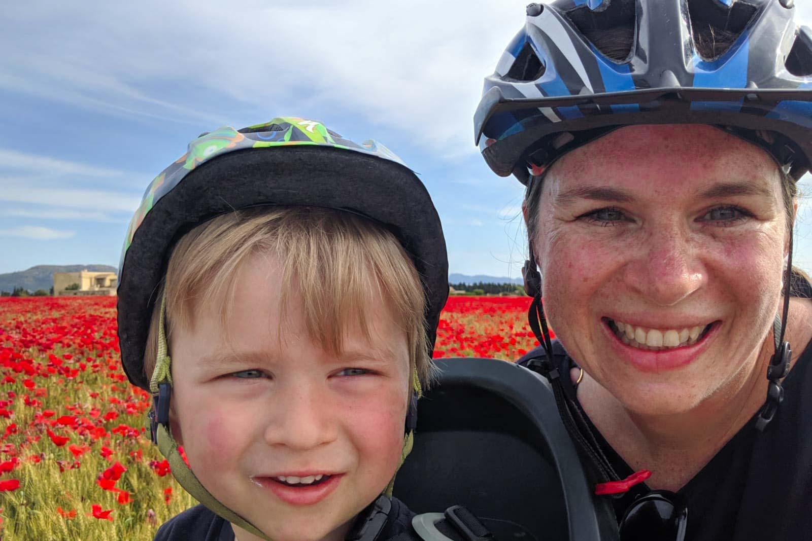 Mallorca family cycling