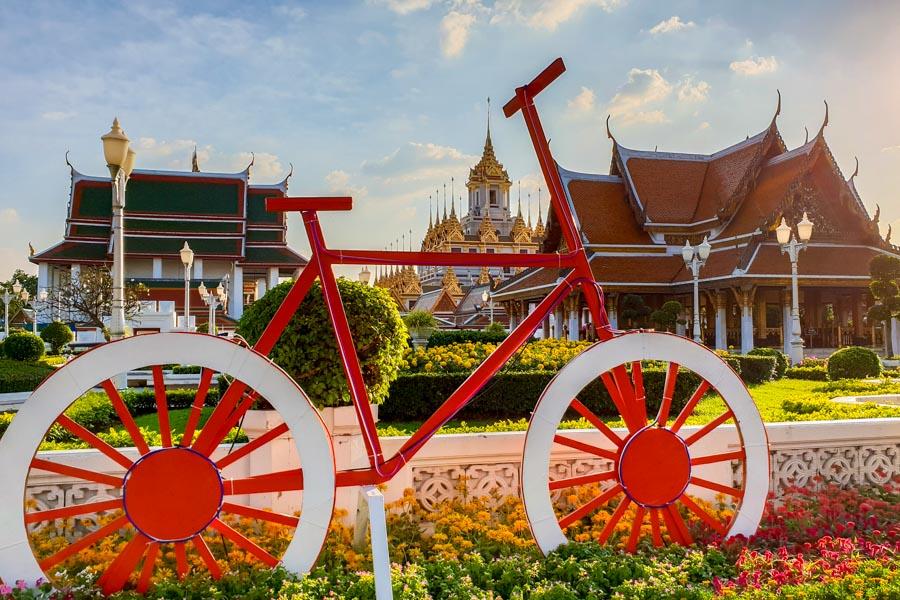 Bikes in Bangkok