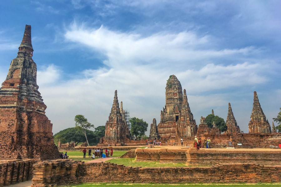 Ayutthaya Historical Park temples
