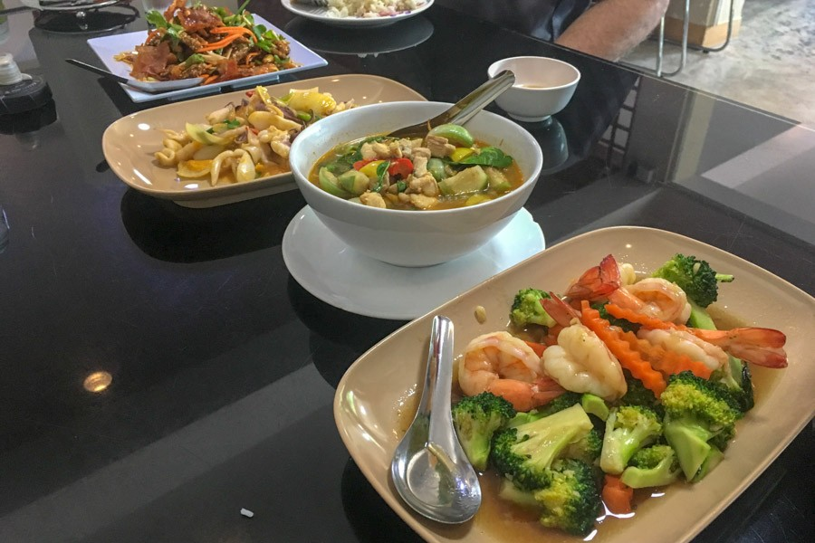 Another delicious lunch in Thailand