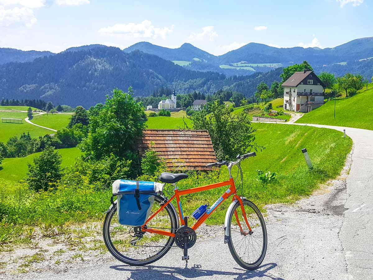 Slovenia cycling tour