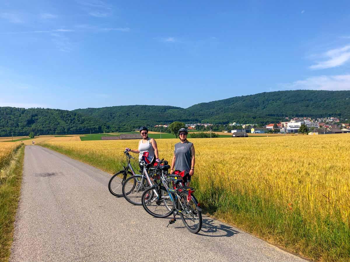 Cycling to Bratislava