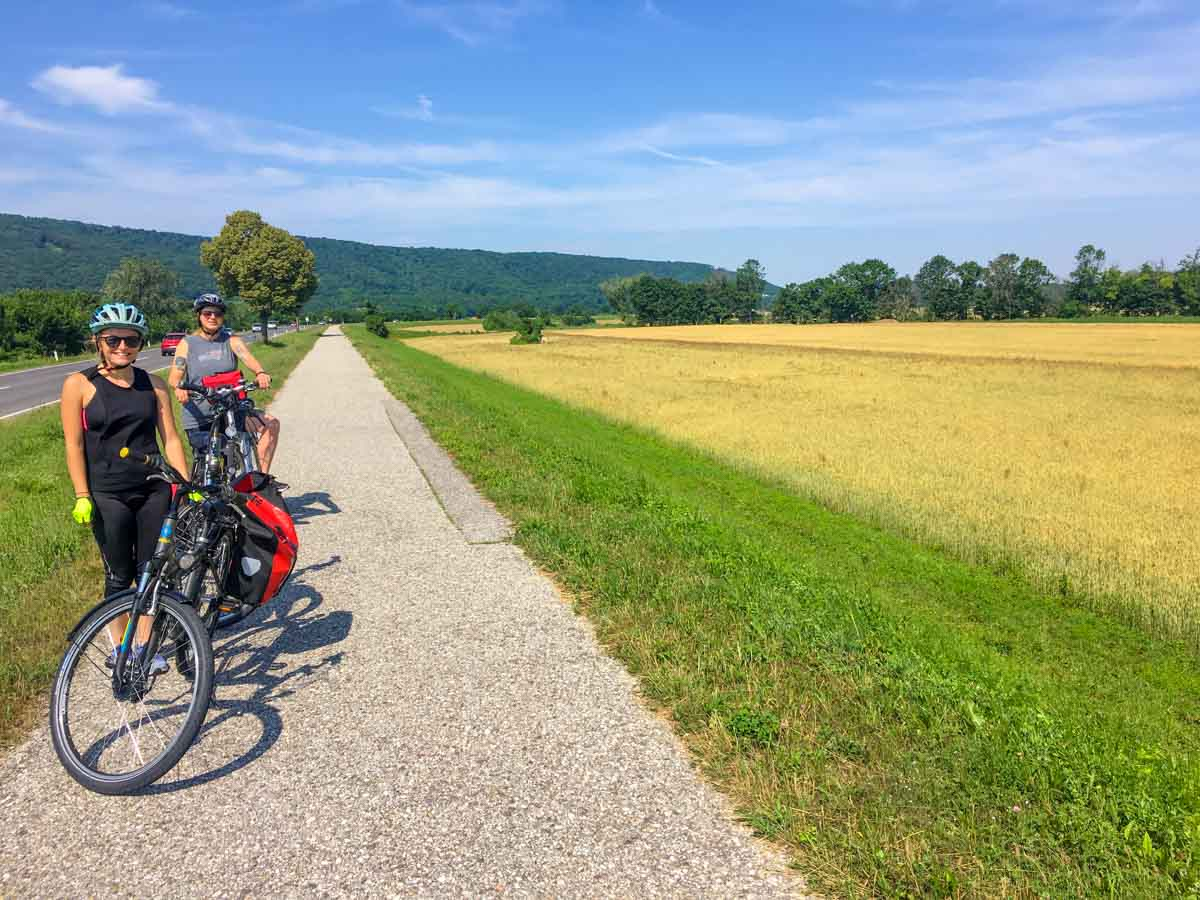Cycling from Vienna to Bratislava