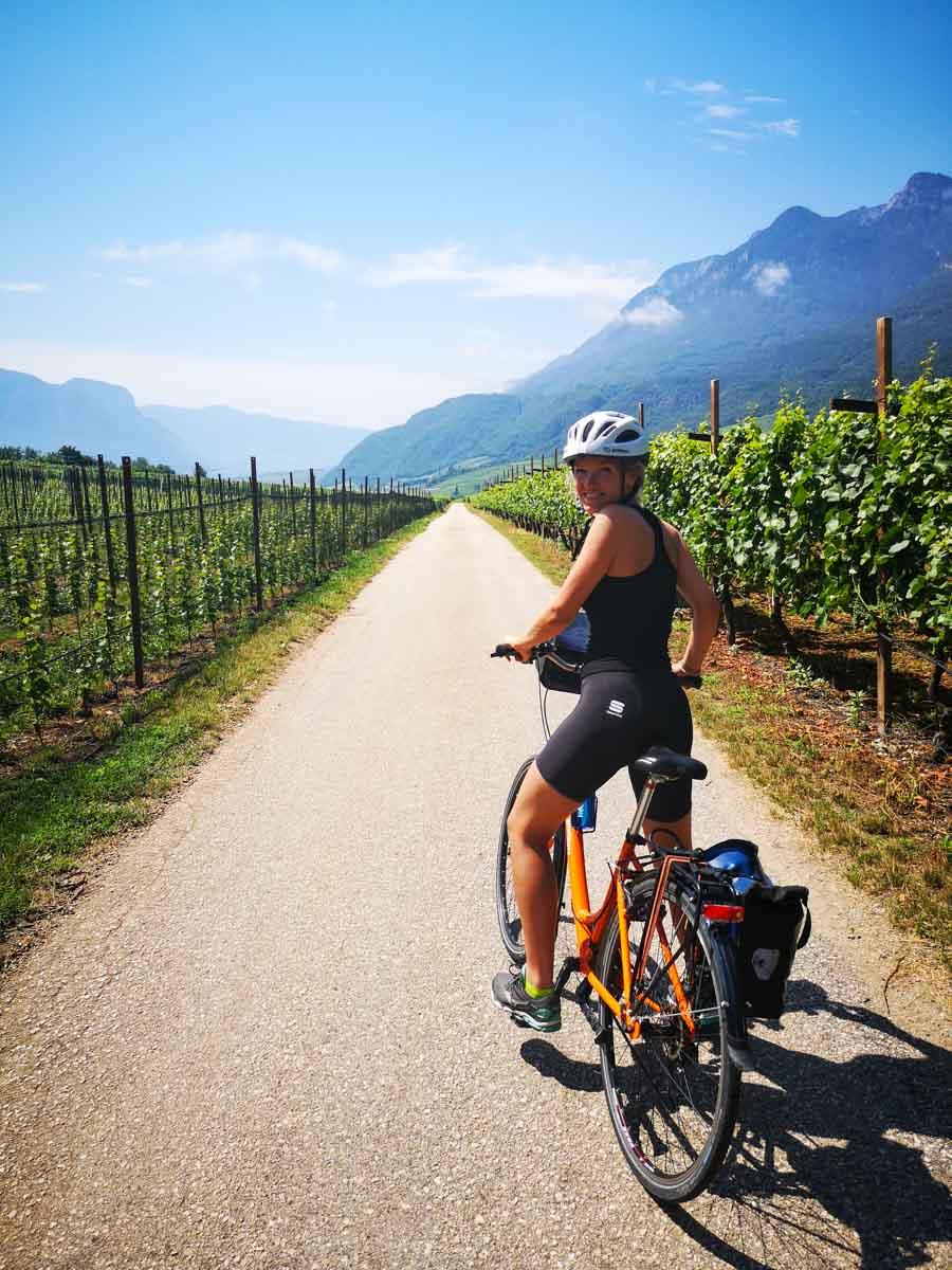 Cycling Bolzano to Trento
