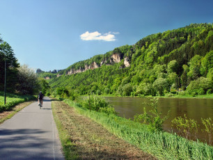 Riverside Cycle Path - Czech Republic