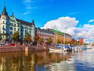 Helsinki old town, Finland