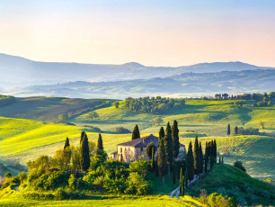 Tuscany landscape -Blog post