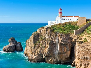 Cabo Sao Vicente Lighthouse, Sagres, Portugal