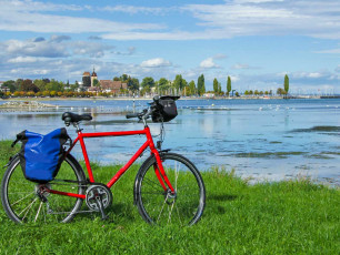 ge041 - Bike by Lake Constance