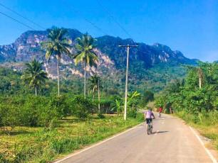 Thailand cyclists