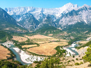 Vjosa River Valley, Albania