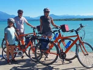 Cycling Lake Garda Family