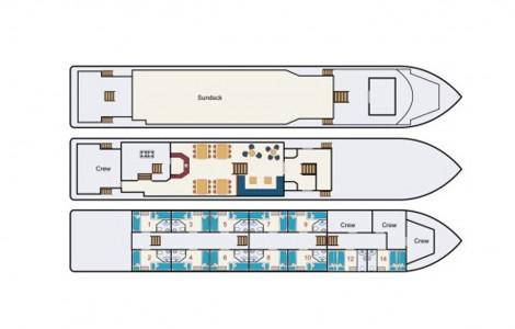 Zwaantje  - Deckplan