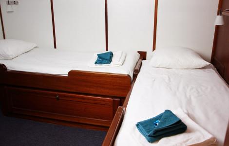 Caprice - Twin cabin