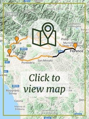 Tuscany - Pisa to Florence