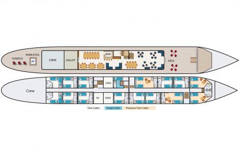 MS Magnifique - Deckplan