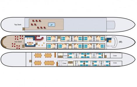 Magnifique IV - Deckplan - Artist's impression