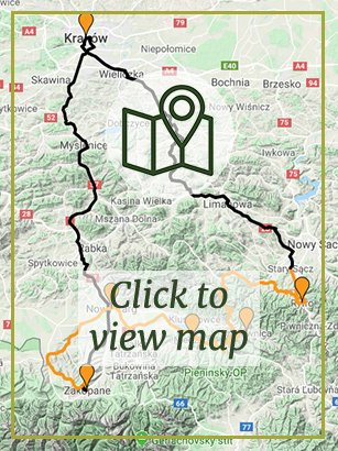 Krakow & Dunajec Cycle-Path - Self-Guided