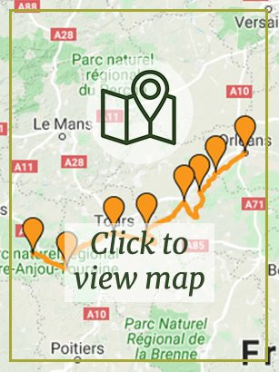 Loire Valley - Orléans to Saumur